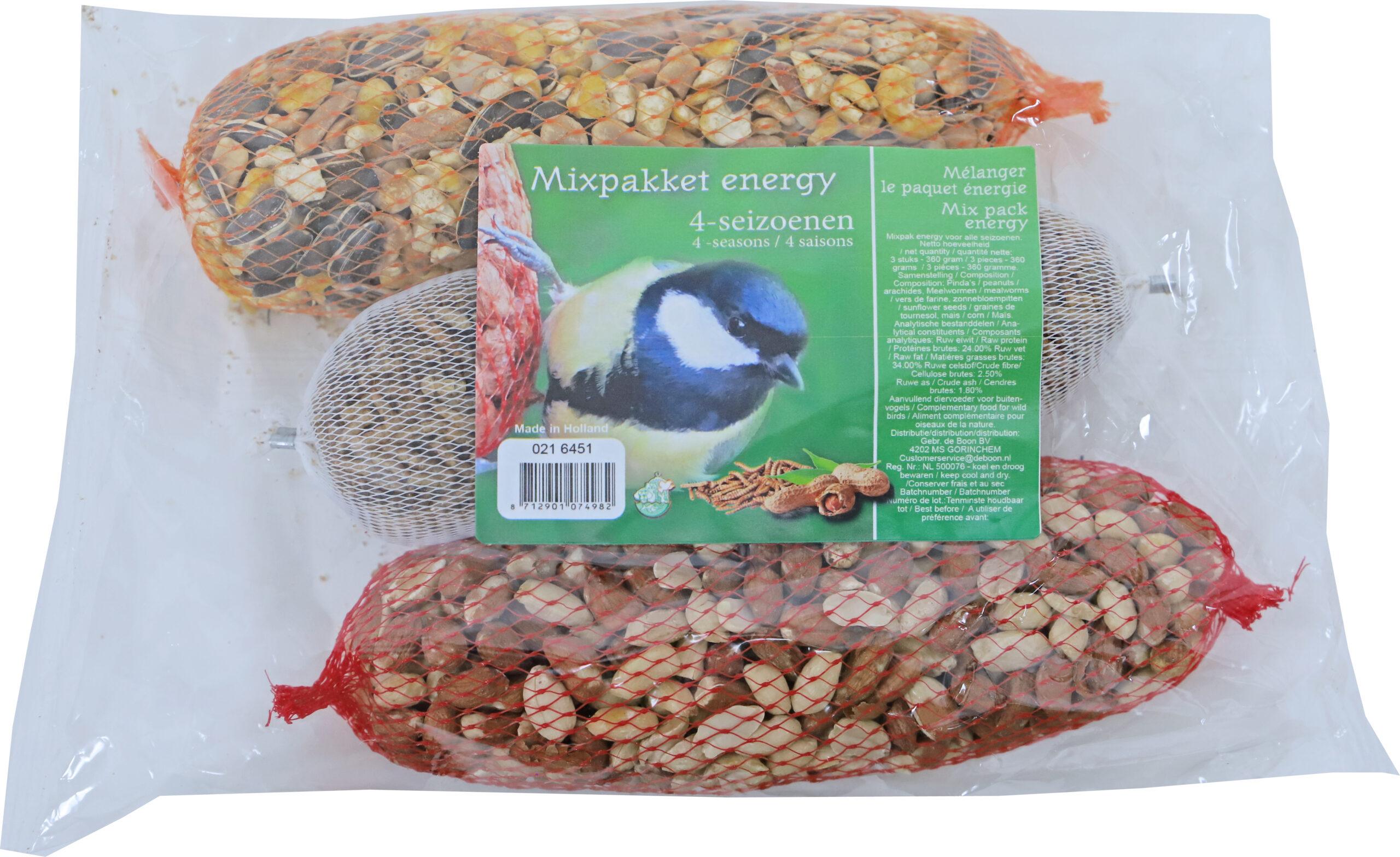 Boon Buitenvogel Mixpakket Energy