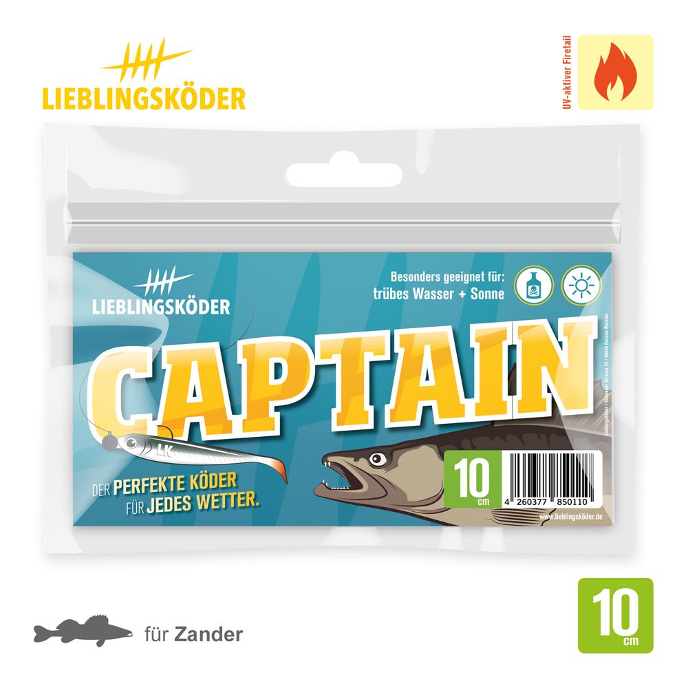 Lieblingskoder Captain 10 Cm