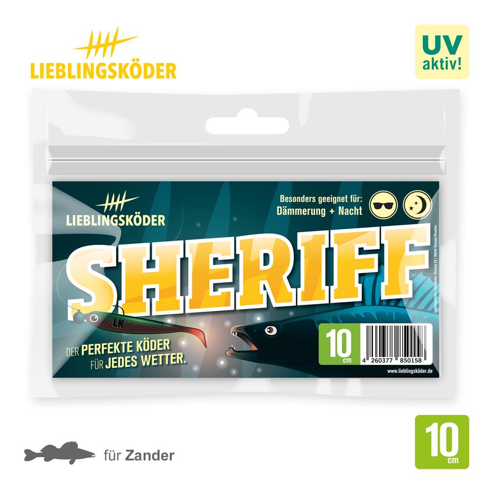 Lieblingsköder Sheriff 10 Cm
