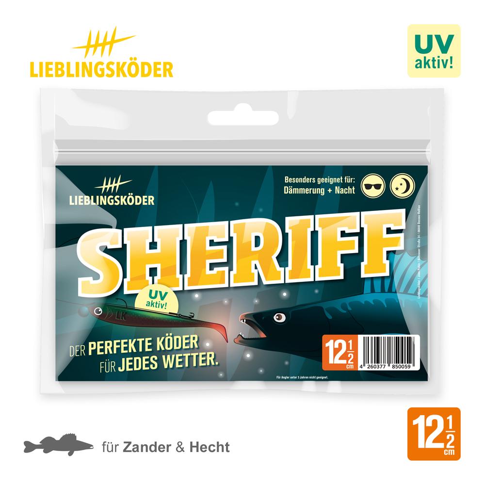 Lieblingskoder sheriff 12.5 Cm