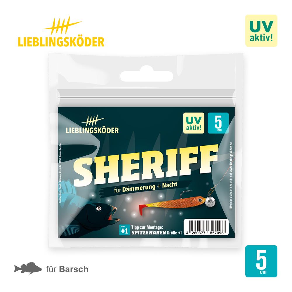 Lieblingskoder Sheriff 5 Cm