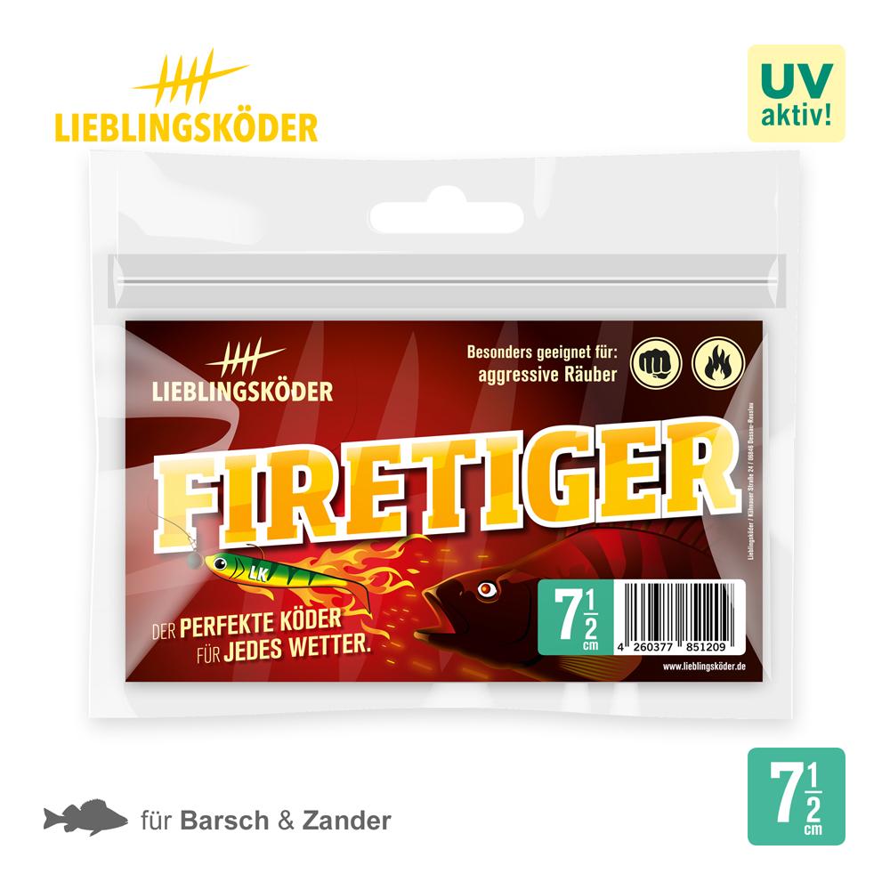 Lieblingskoder Firetiger 7.5 Cm