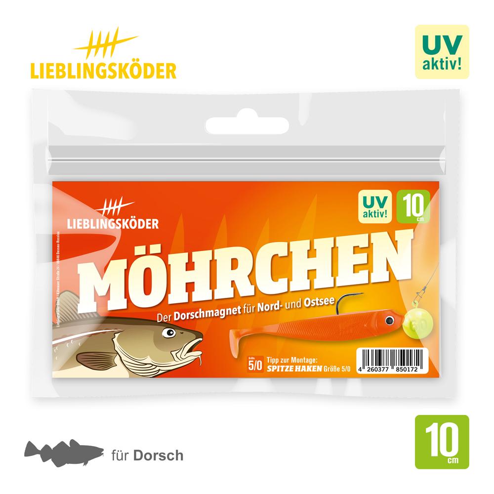 Lieblingsköder Mohrchen 10 Cm