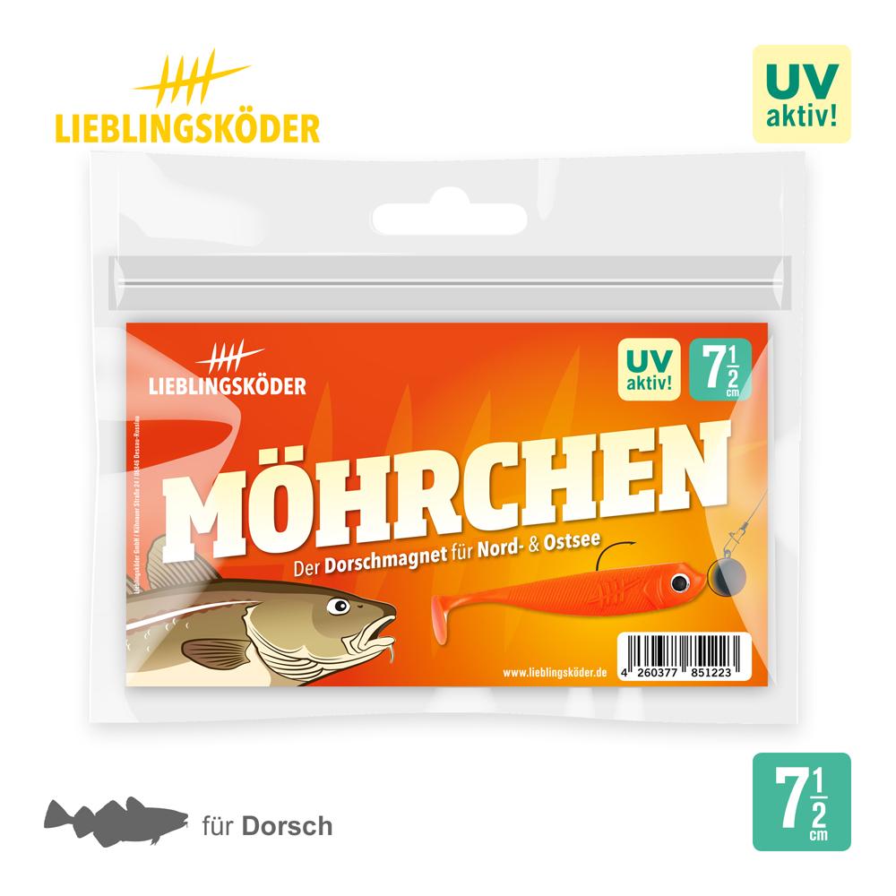 Lieblingsköder Mohrchen 7.5 Cm