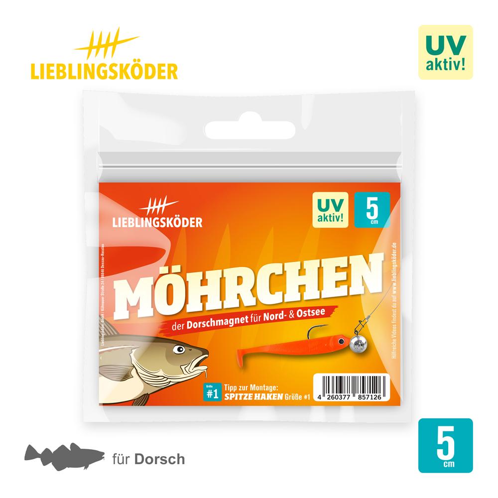 Lieblingsköder Mohrchen 5 Cm