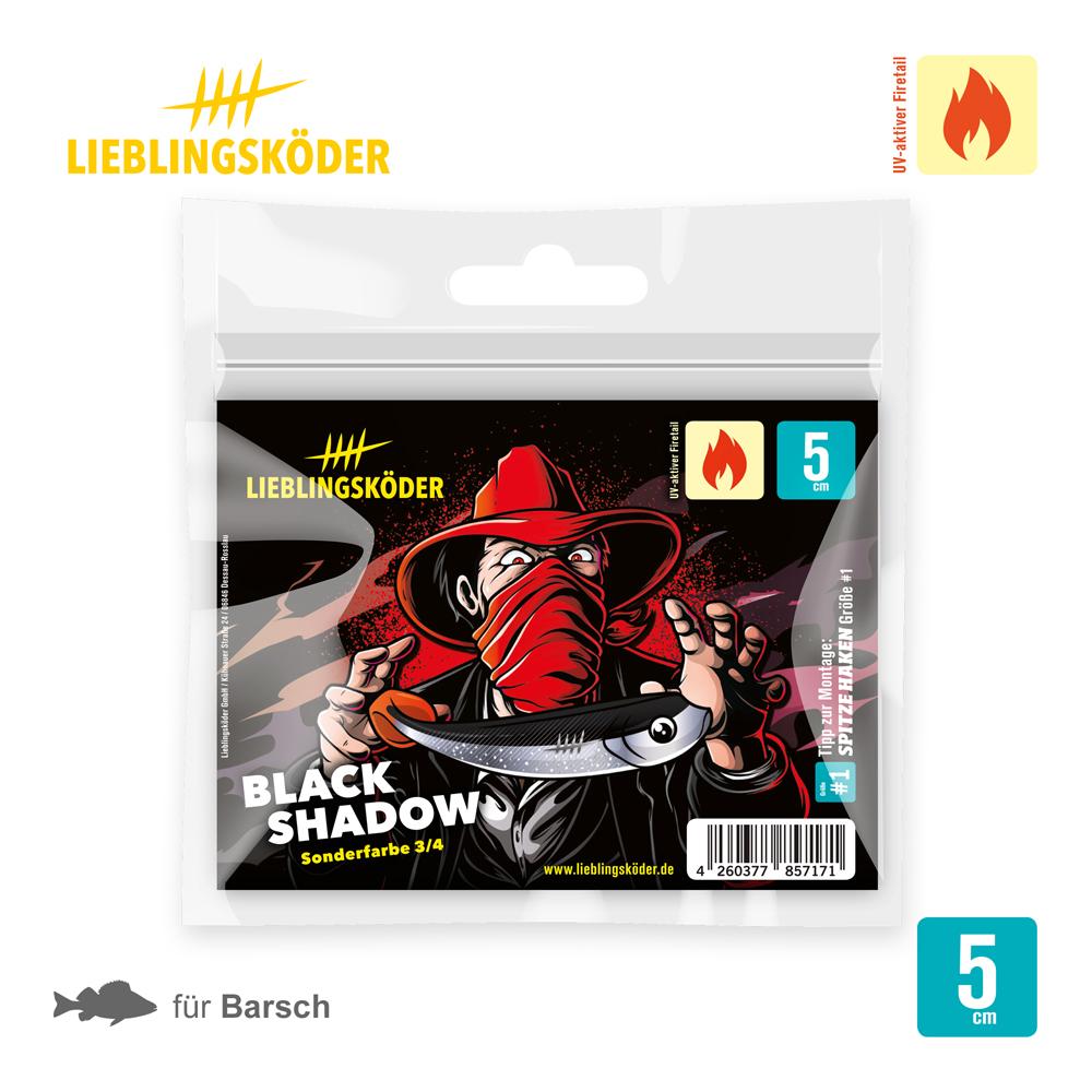 Lieblingsköder Black Shadow 5 Cm