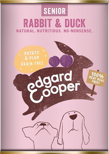 Edgard & Cooper Konijn & Eend Blik 400g