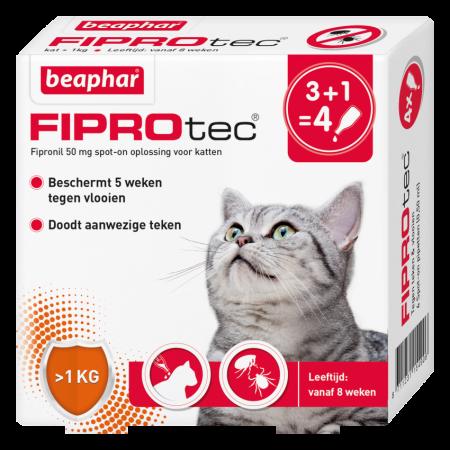 Beaphar fiprotec Kat