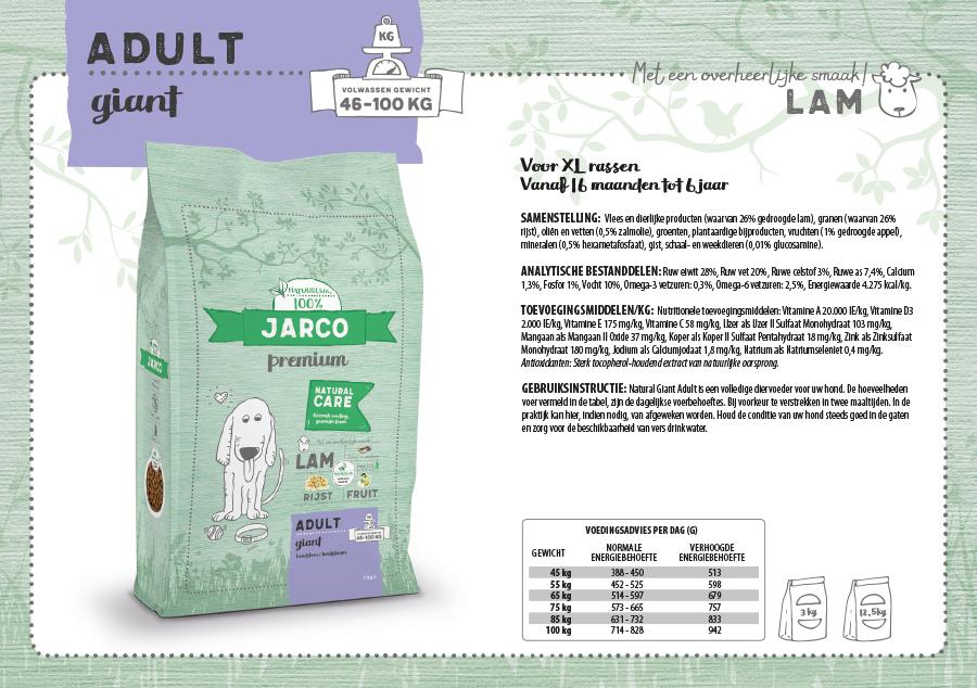 Jarco Premium Giant Lam