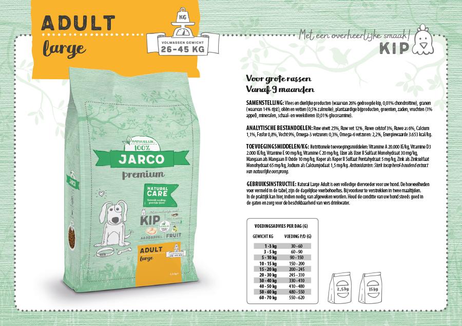 Jarco Premium Adult Large Kip