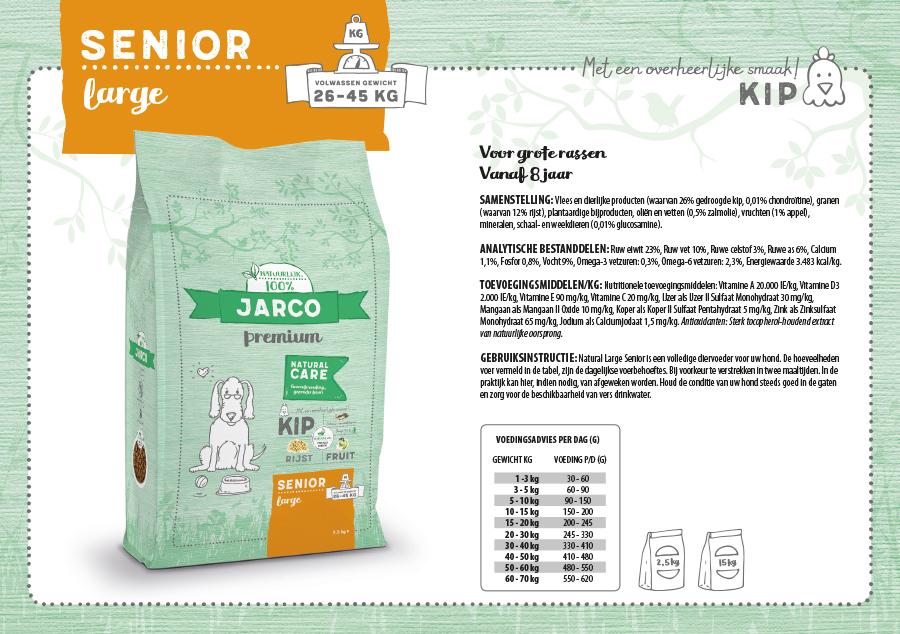 Jarco Premium Senior Large Kip