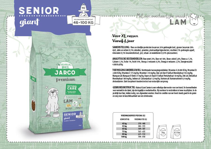 Jarco Premium Senior Giant Lam