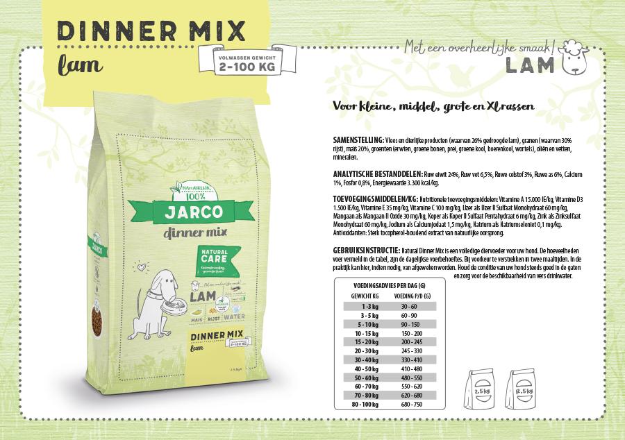 Jarco Dinner mix Adult