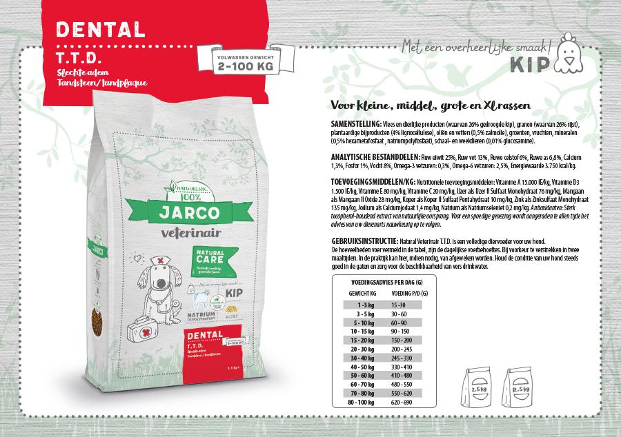 Jarco Veterinair Dental T.T.D. Kip