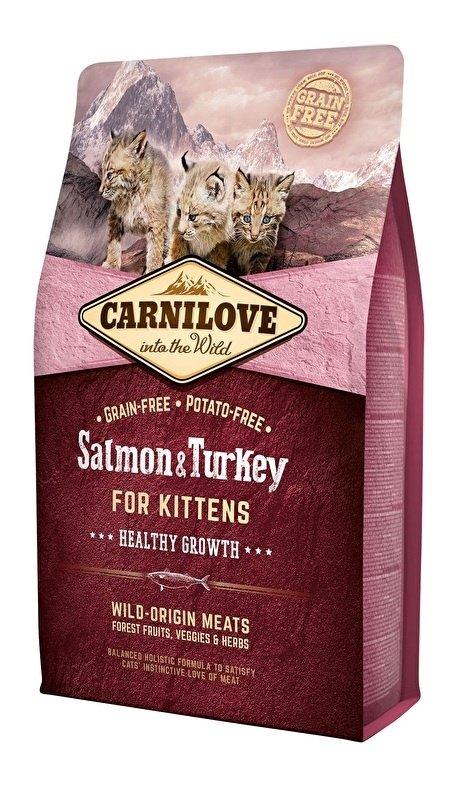 Carnilove Kitten Zalm en Kalkoen