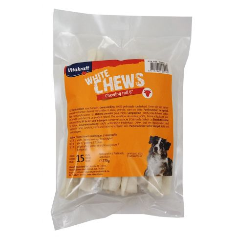 Vitakraft White Chews Chewing Roll 6 Inch