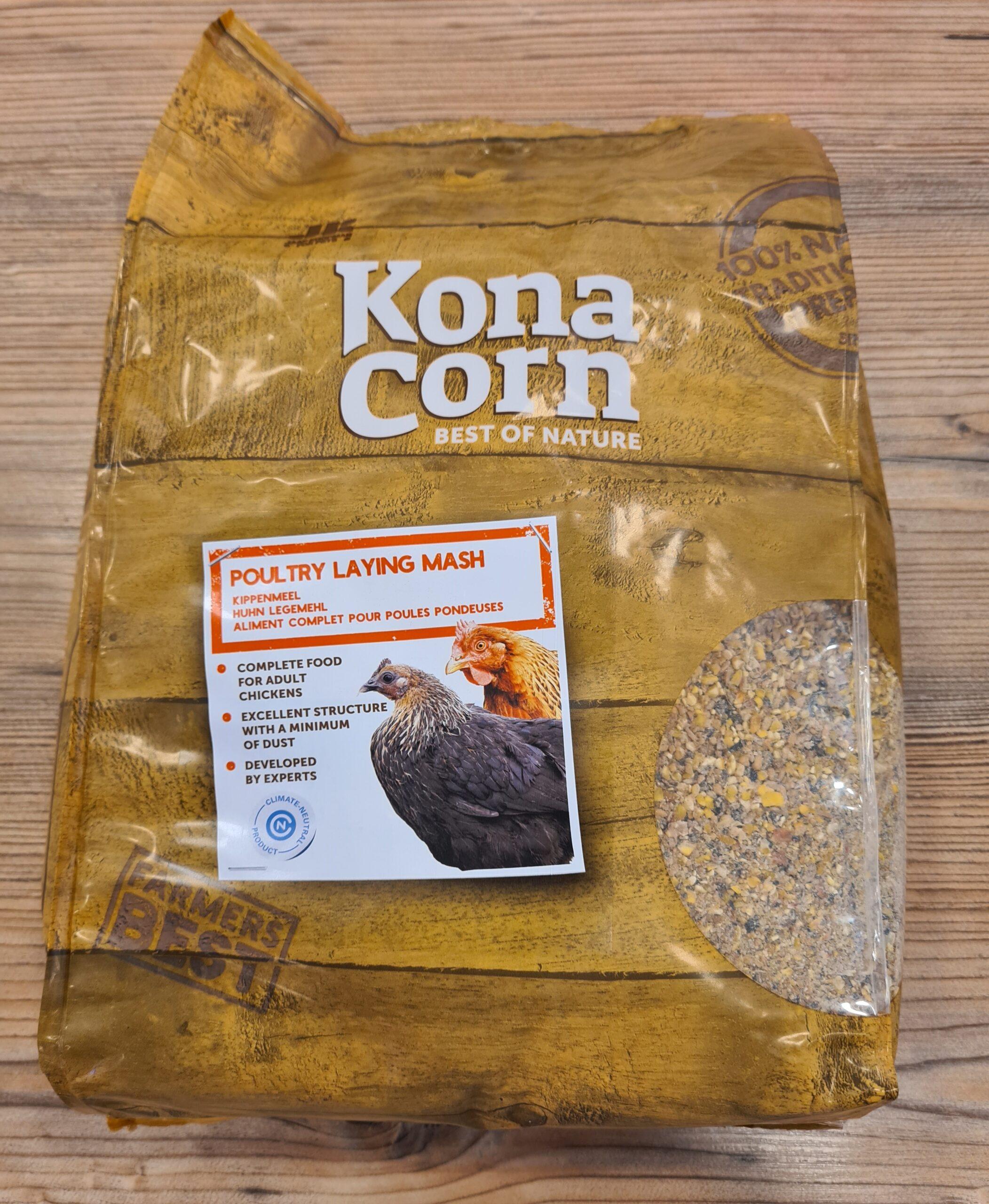KonaCorn Kippen Legmeel