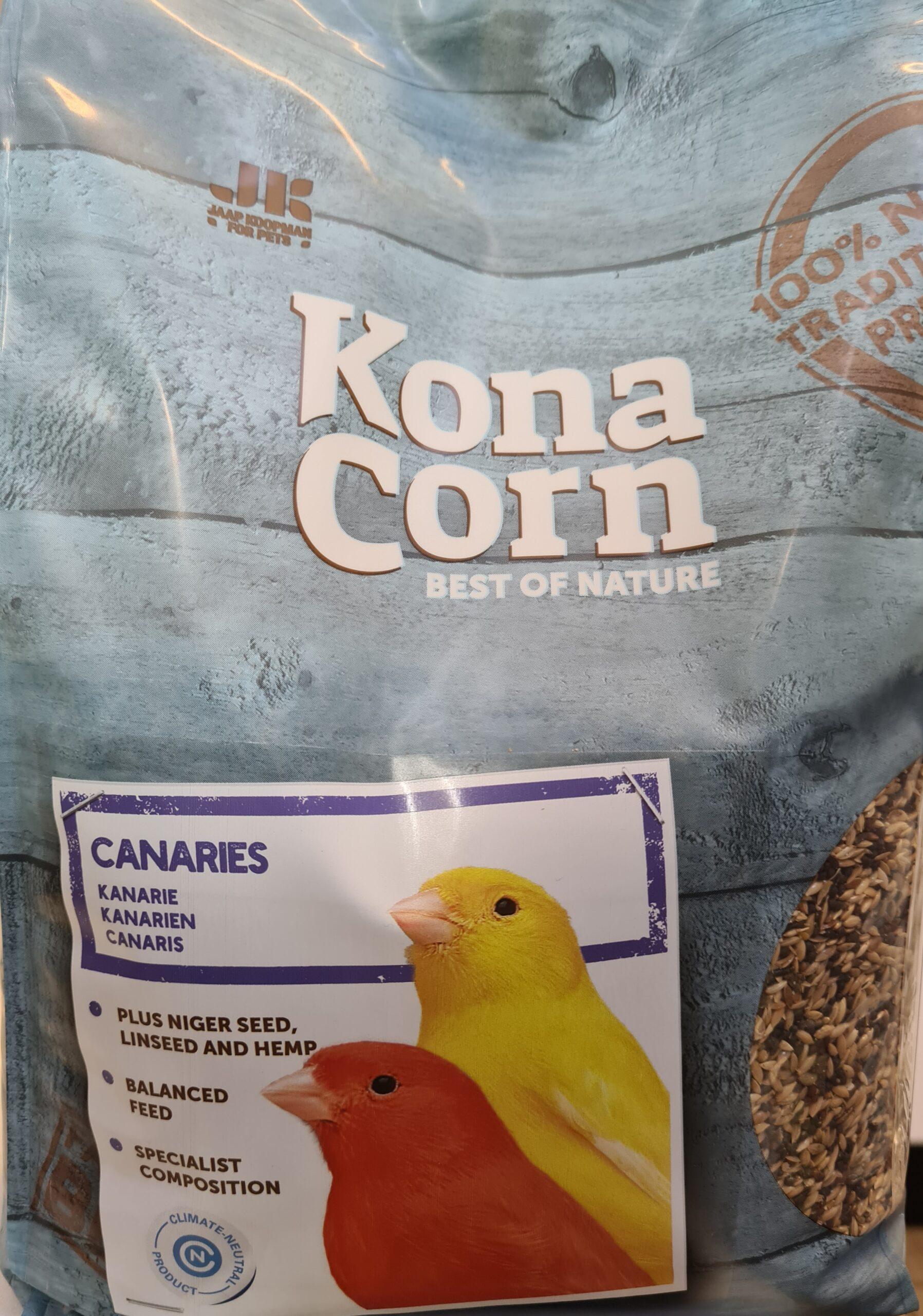 KonaCorn Kanariezaad