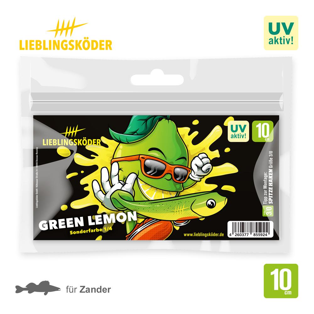Lieblingsköder Green Lemon 10 Cm