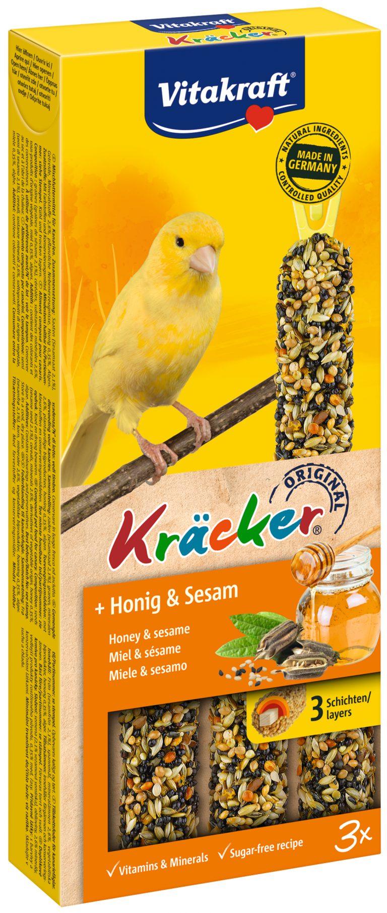 Vitakraft Kracker Mix Kanarie Honing/Sesam