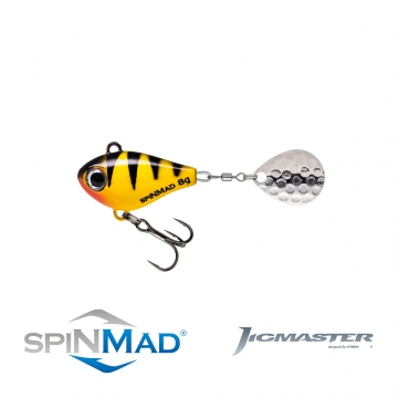 Spinmad Jigmaster 8G Yellow Tiger