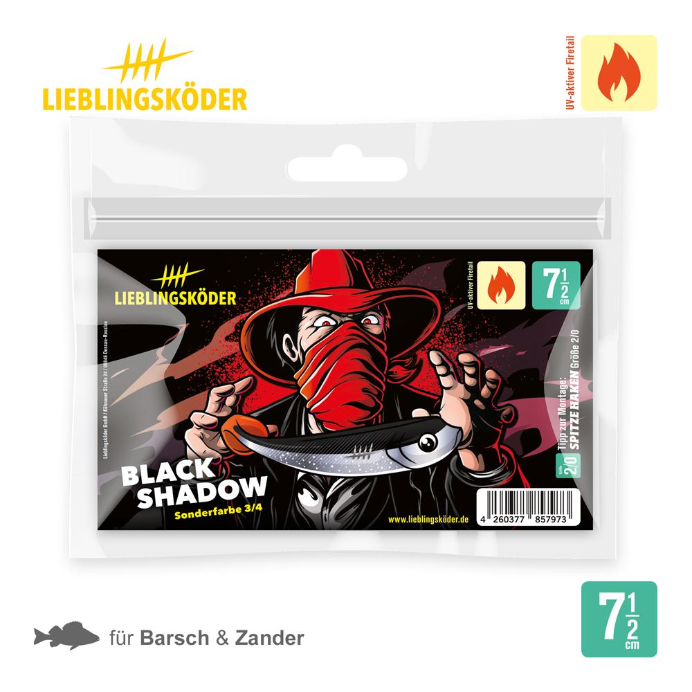 Lieblingsköder Black Shadow 7.5 Cm