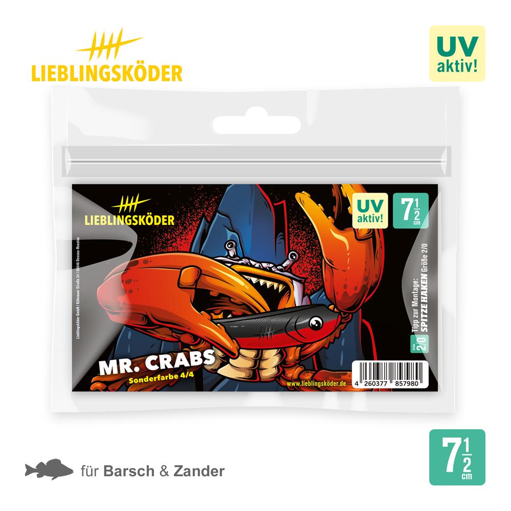 Lieblingsköder MR. Crabs 7.5 Cm