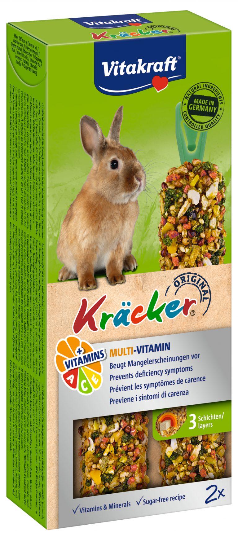 Vitakraft Kracker Konijn Multivitamine