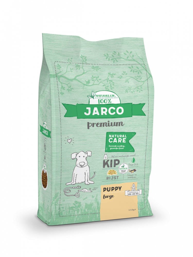 Jarco Premium Puppy Large Kip