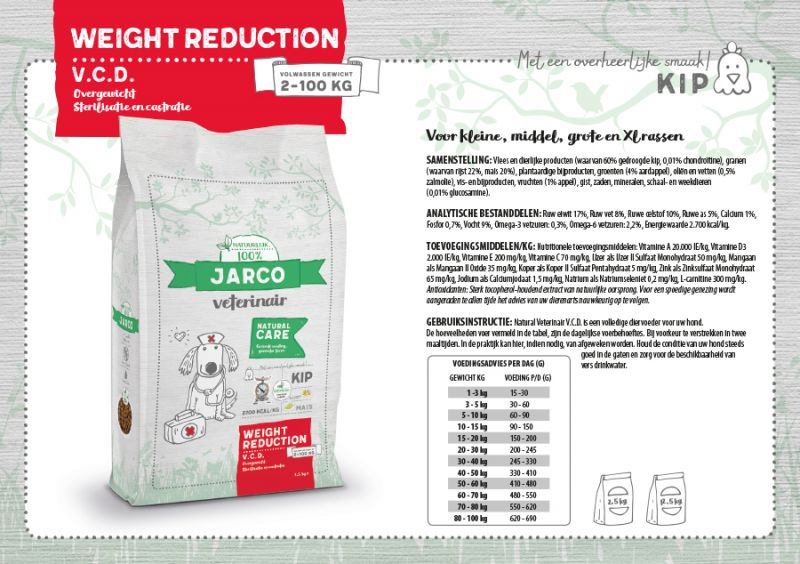 Jarco VCD Weight Reduction
