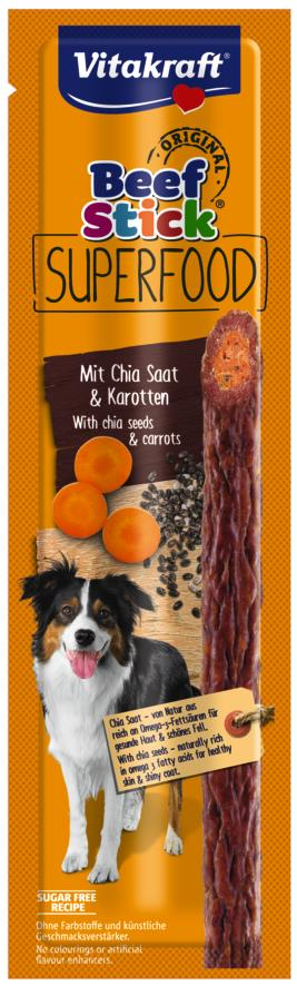 Vitakraft beef stick superfood