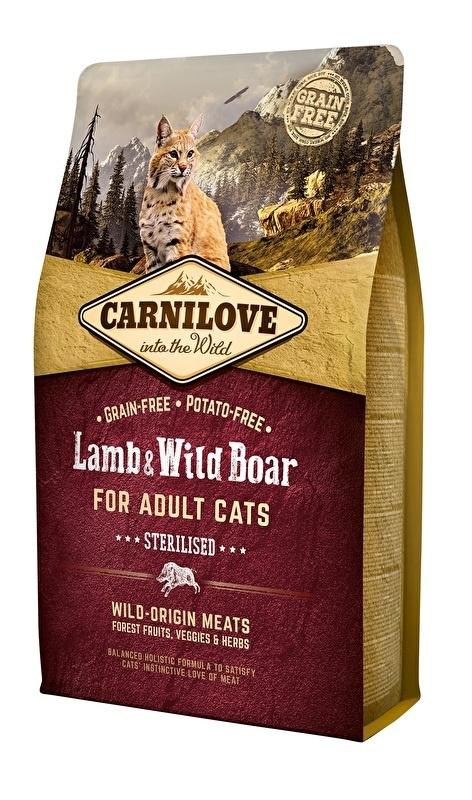 Carnilove Kat Lam & Wild Zwijn