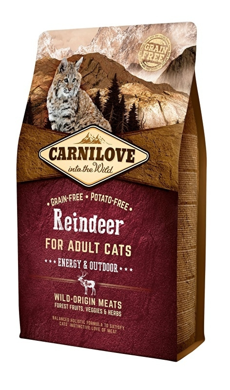 Carnilove Kat Rendier Energie & Outdoor