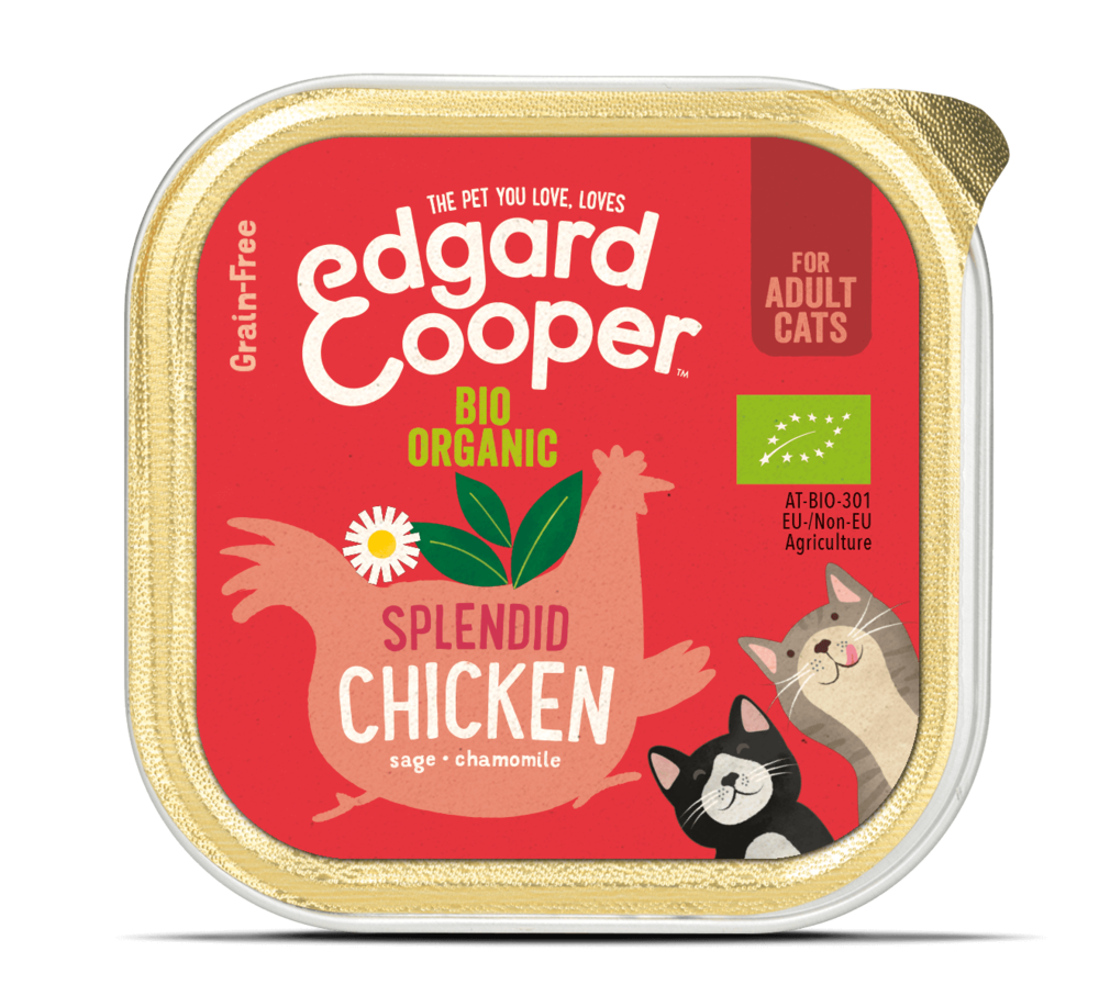 Edgard en Cooper Kat Kuipje Bio Kip