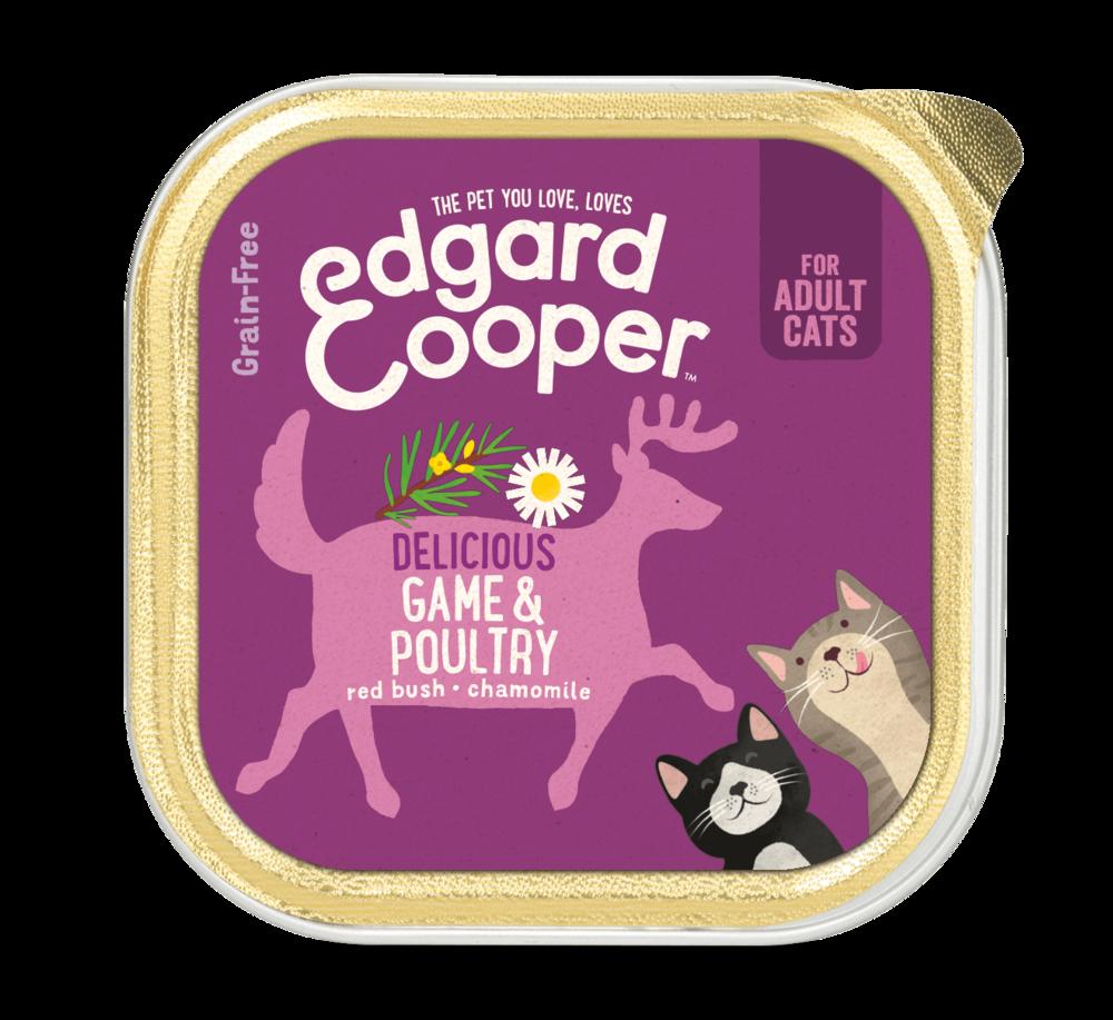 Edgard en Cooper Kat Kuipje Wild en Gevogelde