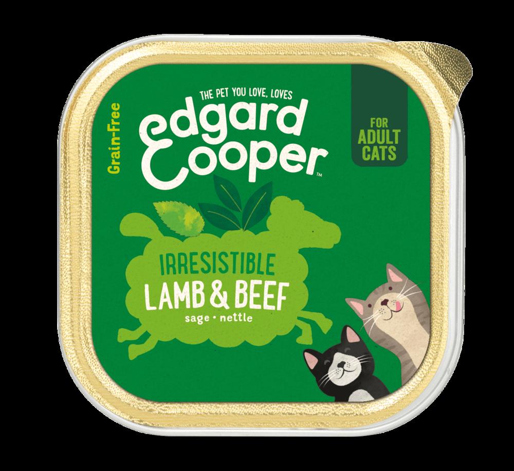 Edgard en Cooper Kat Kuipje Lam en Rund