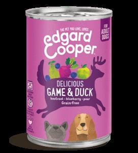 Edgard en Cooper Wild & Eend Blik 400g