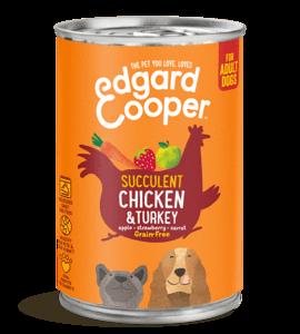 Edgard en Cooper Kip Kalkoen Blik 400 Gr