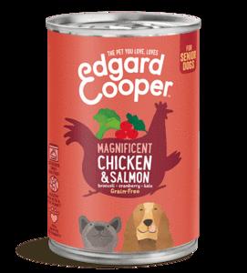 Edgard en Cooper Kip Zalm Blik 400 Gr