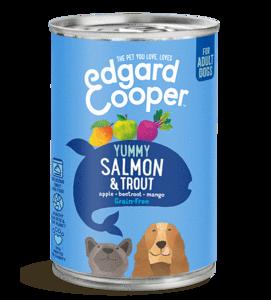 Edgard en Cooper Zalm Forel Blik 400 Gram
