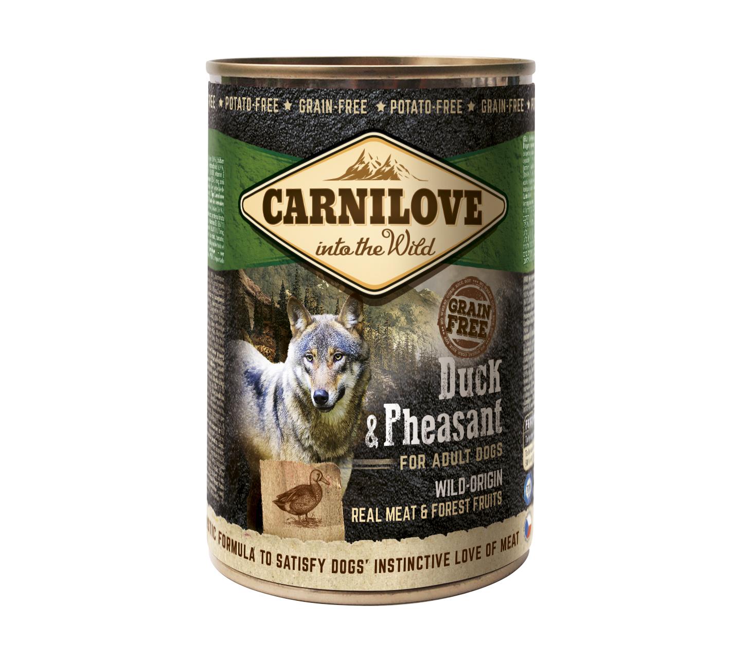 Carnilove Blikvoeding Duck & Pheasant