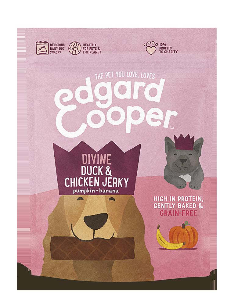 Edgard en Cooper Eend en Kip Jerky