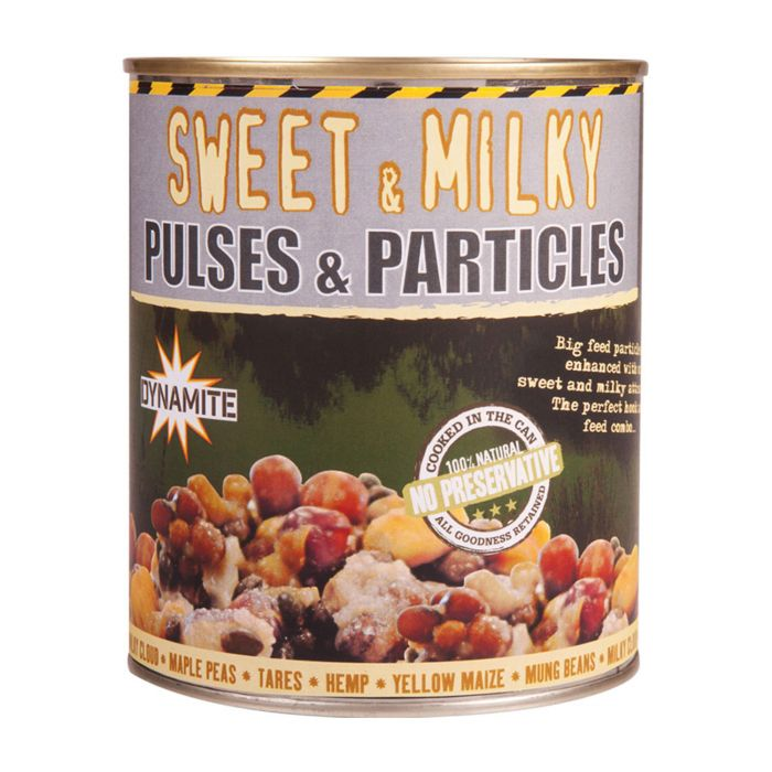 Frenzied Sweet & Milky Pulses & Particles
