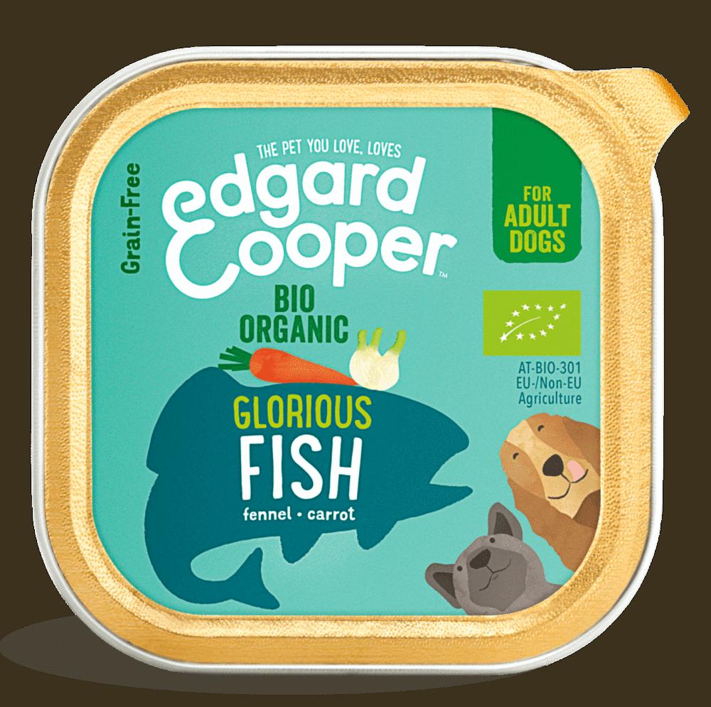 Edgard en Cooper Hond Kuipje Biologische Vis