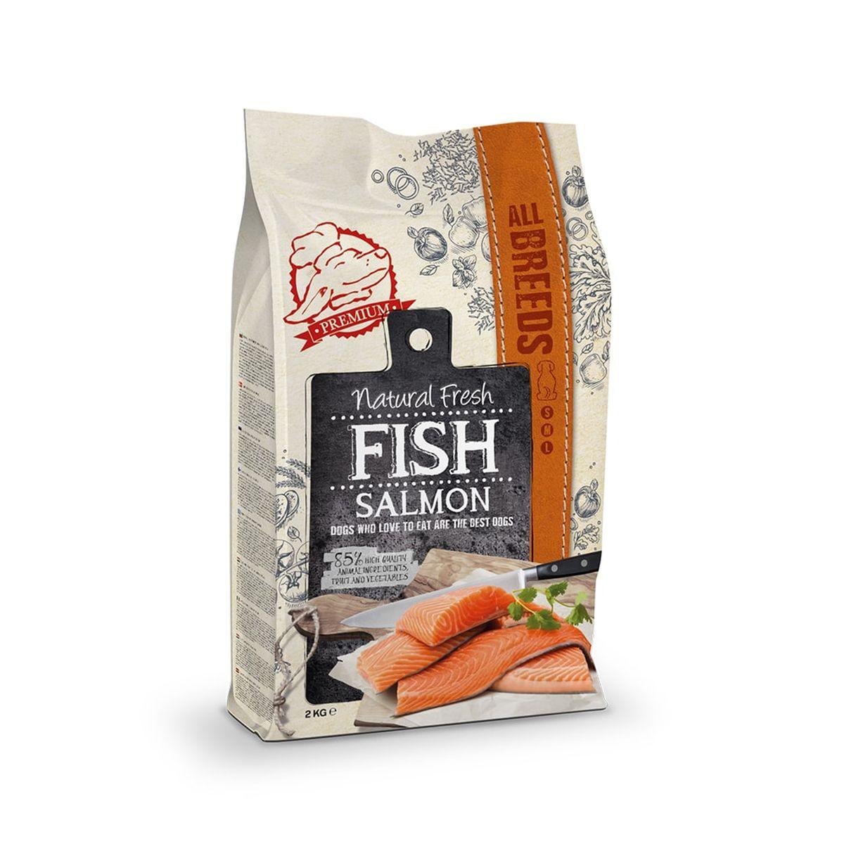 Natural fresh Meat Zalm