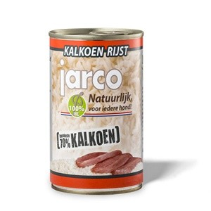 jarco Kalkoen & rijst Blikvoeding