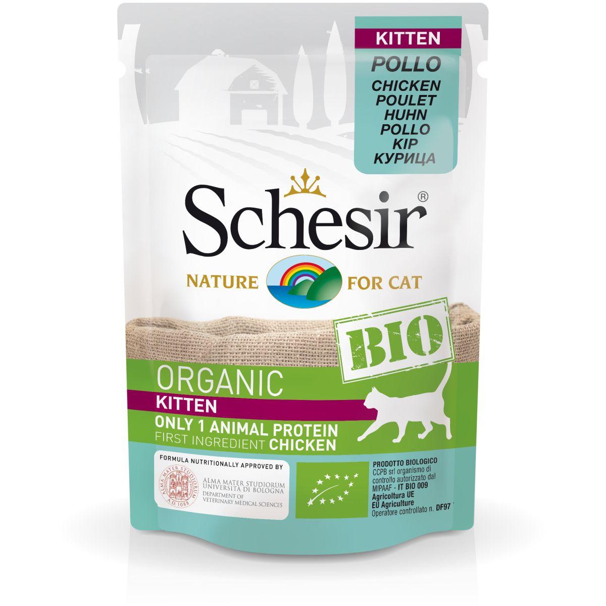 Schesir BIO Organic Kitten