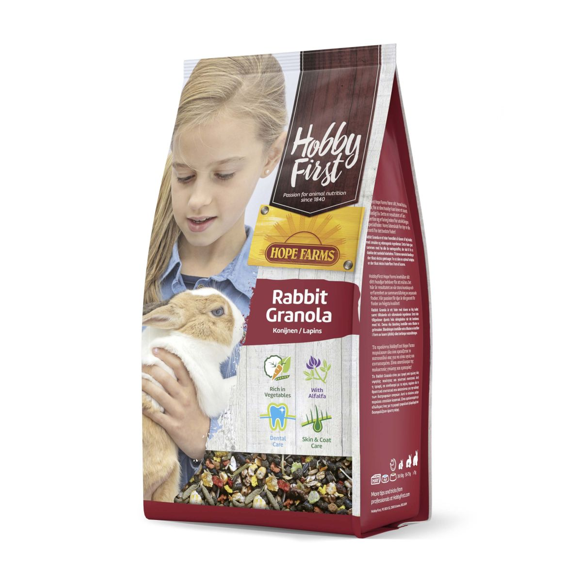 Hope Farms Rabbit granola
