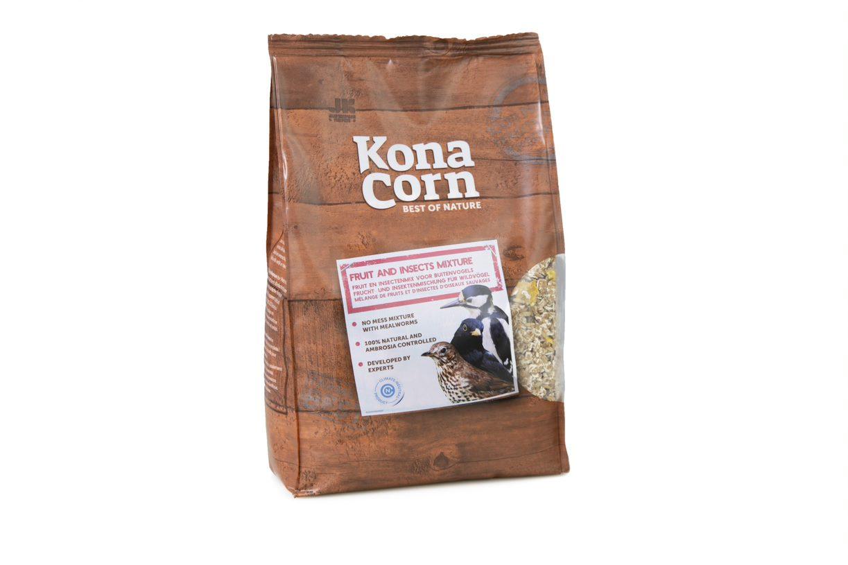 KonaCorn Fruit en Insectenmix