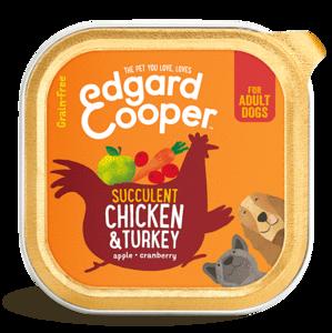 Edgard & Cooper Hond Kuipje Kip en Kalkoen